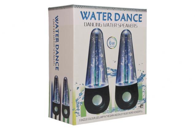 Foto 8 - USB tančící vodní LED reproduktory 6W