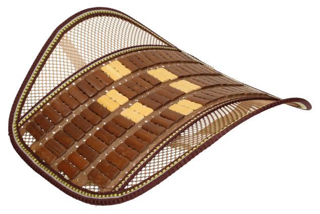 Foto 4 - Masážní dřevěná ergonomická opěrka zad