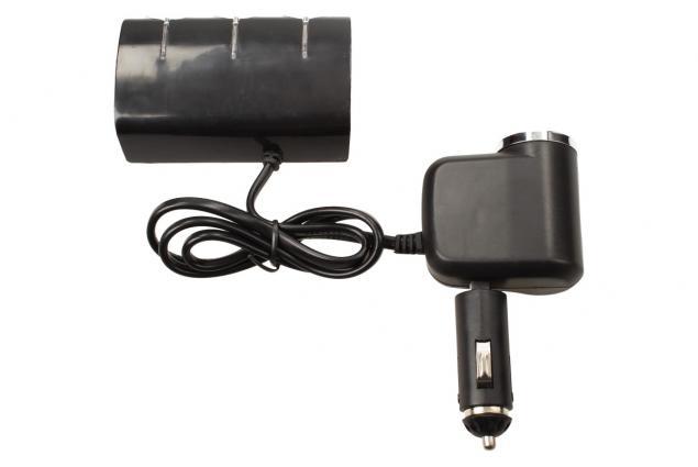Foto 8 - Roztrojka autozapalovače s LED světlem a USB