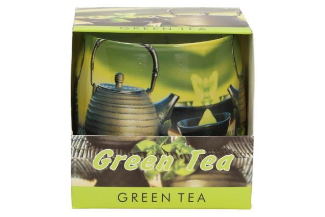 Foto 2 - Vonná svíčka zelený čaj