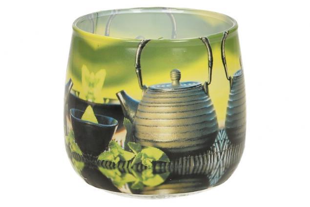 Foto 3 - Vonná svíčka zelený čaj