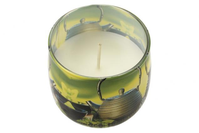 Foto 4 - Vonná svíčka zelený čaj
