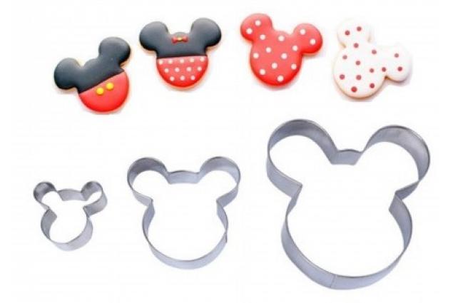Foto 4 - Vykrajovátka 5ks Mickey Mouse