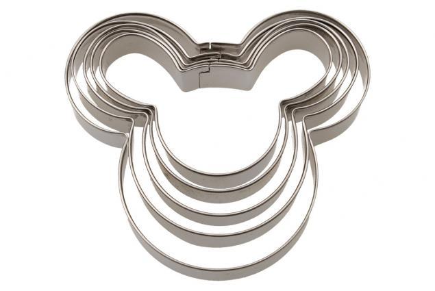 Foto 2 - Vykrajovátka 5ks Mickey Mouse