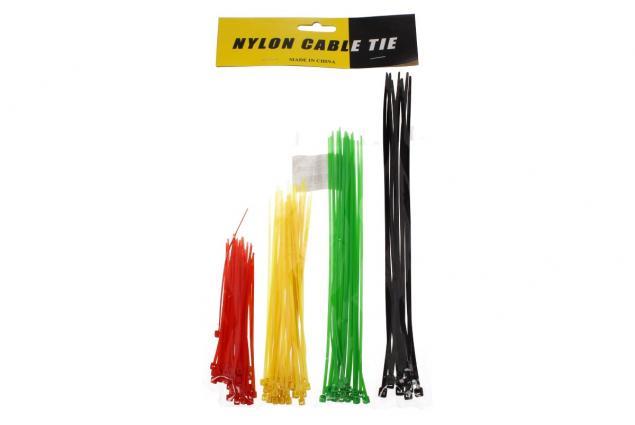 Foto 2 - Stahovací pásky barevné 4 barvy