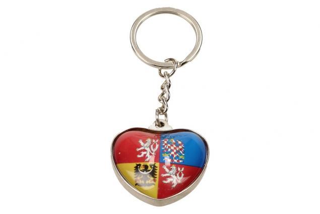 Foto 3 - Klíčenka srdce státní znak
