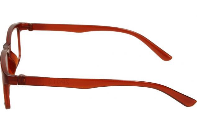 Foto 4 - Dioptrické brýle +3,00 hnědé