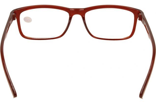 Foto 5 - Dioptrické brýle +3,00 hnědé