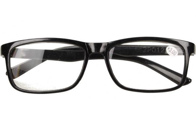 Foto 2 - Dioptrické brýle +3,00 černé