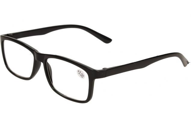 Foto 3 - Dioptrické brýle +3,00 černé