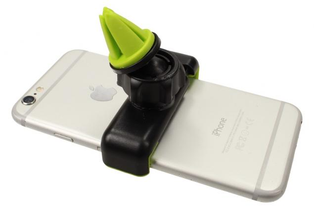 Foto 10 - Držák telefonu do mřížky ventilace univerzální 360°