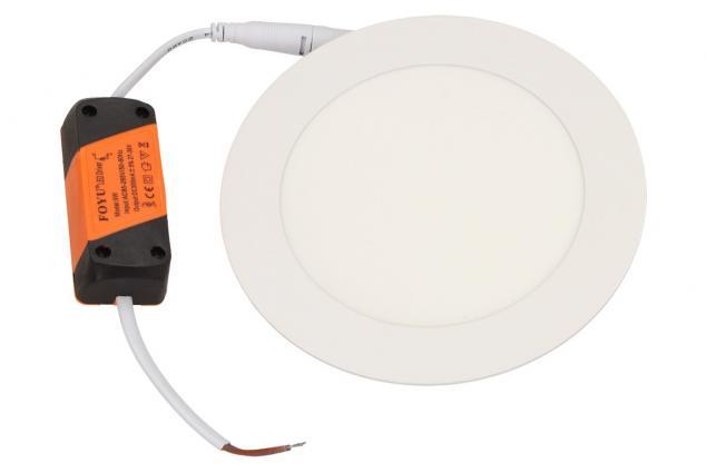 Foto 2 - LED stropní panel zápustný 9W kulatý