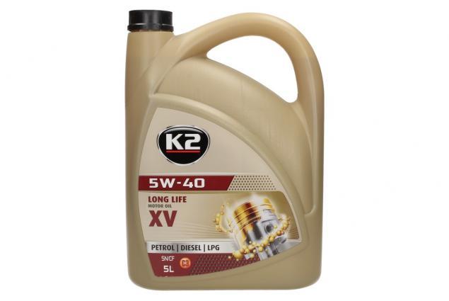 Foto 2 - K2 5W - 40 BENZIN, DIESEL, LPG 5 l - motorový olej