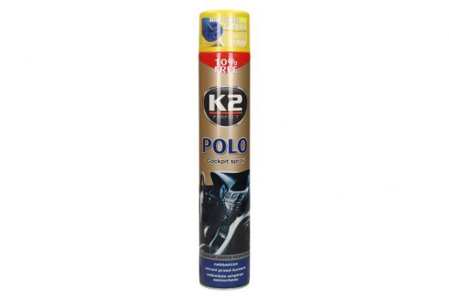 Foto 2 - K2 POLO COCKPIT 750 ml - ochrana vnitřních plastů LEMON