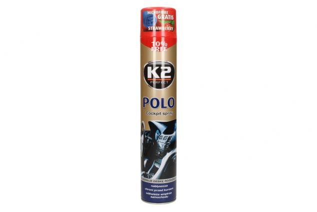 Foto 2 - K2 POLO COCKPIT 750 ml - ochrana vnitřních plastů STRAWBERRY