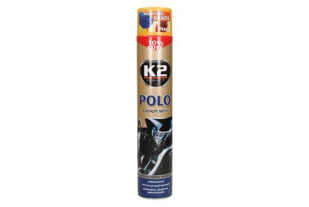 Foto 2 - K2 POLO COCKPIT 750 ml - ochrana vnitřních plastů PEACH