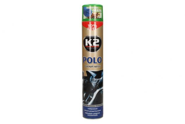 Foto 2 - K2 POLO COCKPIT 750 ml - ochrana vnitřních plastů PINE