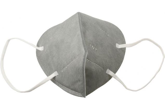 Foto 2 - Respirátor FFP2/KN95, respirační rouška šedá