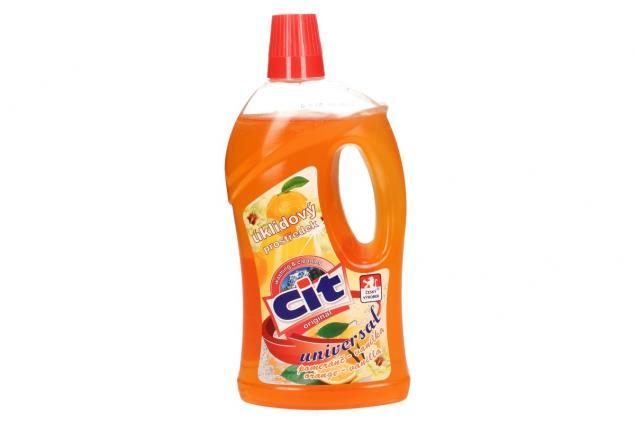 Foto 2 - CIT univerzální úklidový prostředek 1L pomeranč-vanilka