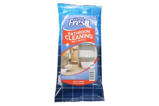 Foto 2 - Ultra Fresh vlhčené čistící ubrousky do koupelny