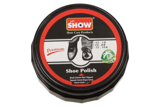 Foto 2 - SHOW krém na boty 50 g- černá