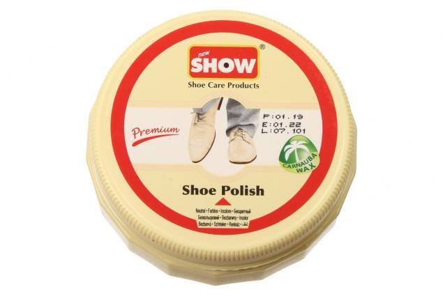 Foto 2 - SHOW krém na boty 50 g- neutrální