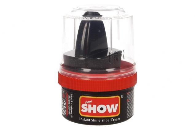 Foto 2 - SHOW krém na boty s aplikační houbičkou 50 g- černá