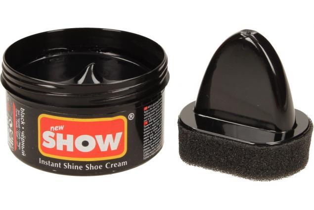 Foto 3 - SHOW krém na boty s aplikační houbičkou 50 g- černá