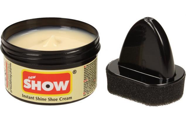Foto 3 - SHOW krém na boty s aplikační houbičkou 50 g- neutrální