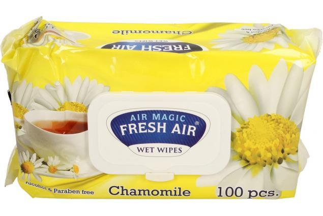 Foto 2 - Fresh Air vlhčené ubrousky 100ks Chamomile