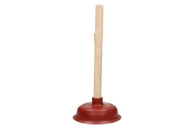 Foto 2 - Gumový zvon na odpady červený 38x14 cm