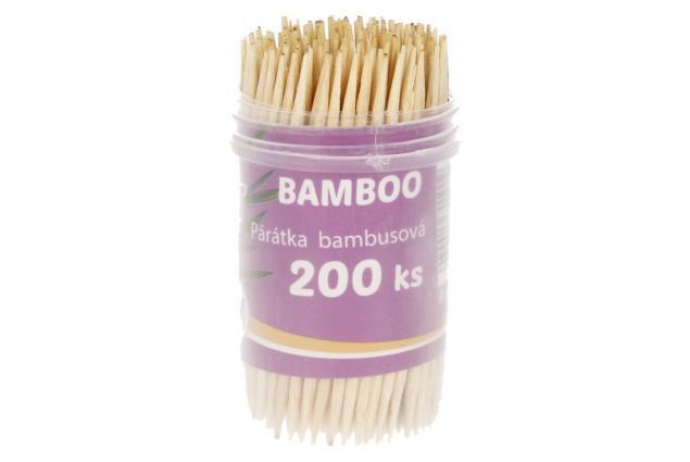 Foto 3 - Párátka bambusová 200 ks