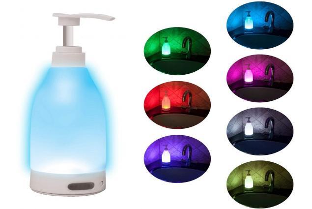 Foto 4 - Svítící LED dávkovač mýdla Soap Brite