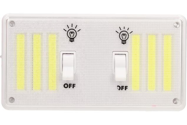 Foto 2 - Bezdrátové super světlo s vypínači, nabíjecí 9W