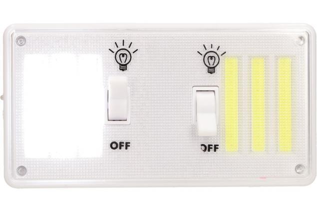 Foto 3 - Bezdrátové super světlo s vypínači, nabíjecí 9W
