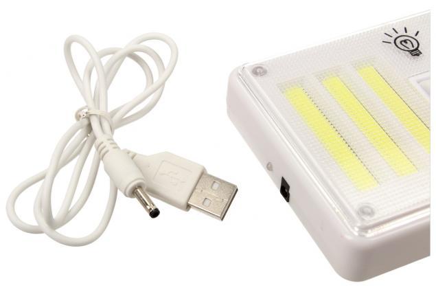 Foto 6 - Bezdrátové super světlo s vypínači, nabíjecí 9W
