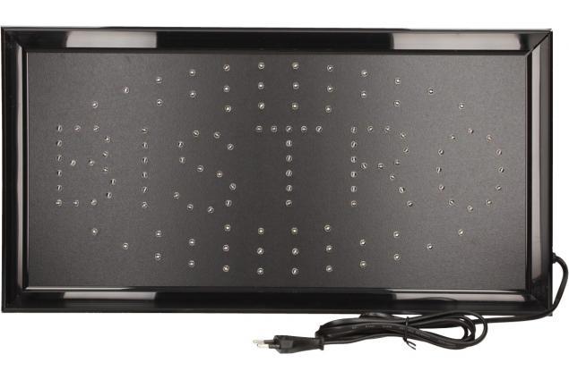 Foto 4 - Barevná světelná LED tabule BISTRO