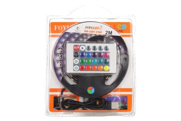 Foto 9 - LED pásek RGB 2 m s ovladačem USB