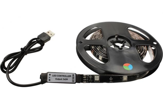 Foto 4 - LED pásek RGB 2 m s ovladačem USB