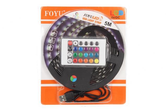 Foto 9 - LED pásek RGB 5 m s ovladačem USB