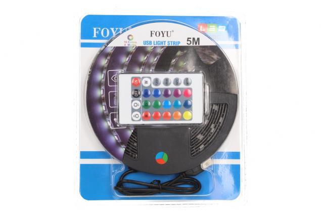 Foto 8 - LED pásek RGB 5 m s ovladačem USB