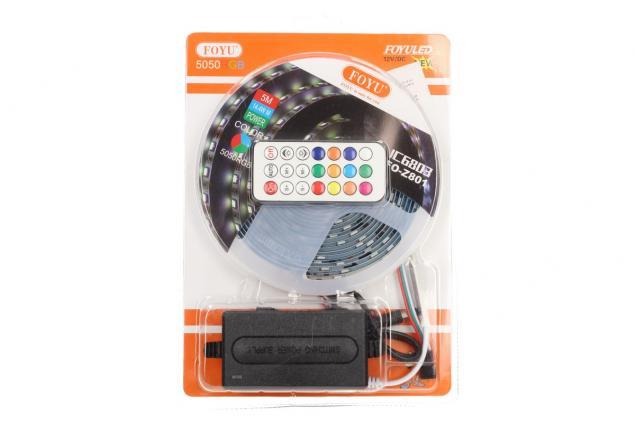 Foto 9 - LED pásek RGB 5 m s ovladačem FO-Z801
