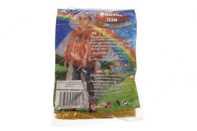 Foto 6 - Dětská pláštěnka poncho slim