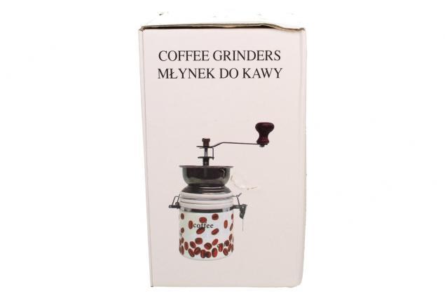 Foto 7 - Ruční mlýnek na kávu kulatý keramický