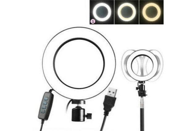 Foto 3 - LED kruhové světlo ring se stativem