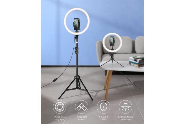 Foto 4 - LED kruhové světlo ring se stativem