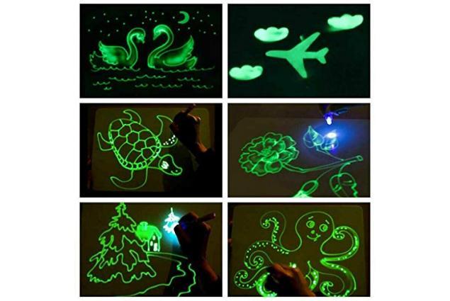 Foto 2 - Kreslící tabulka Draw with light