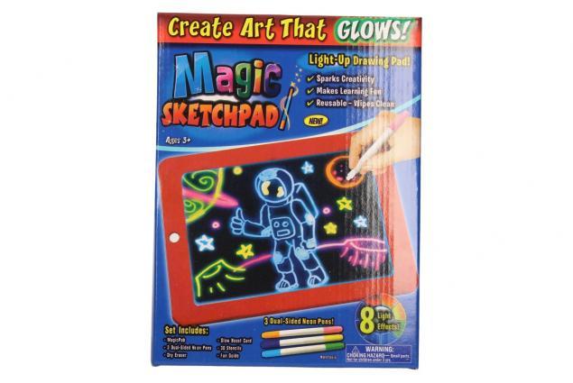 Foto 8 - Kreslící LED tabulka Magic Sketchpad