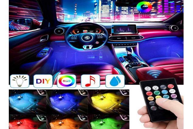 Foto 6 - RGB LED pásky do auta Music