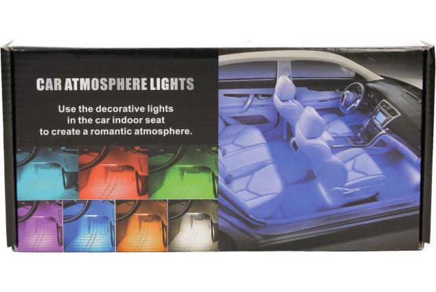 Foto 5 - RGB LED pásky do auta Music